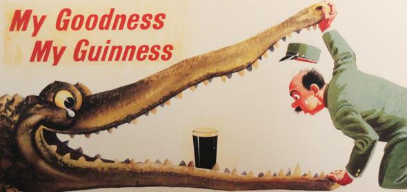 Die erfolgreichsten Werbekampagnen des Brauerei-Giganten werden großflächig präsentiert. (Foto Karsten-Thilo Raab)