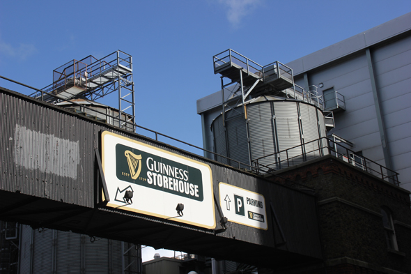 Das Guinness Storehouse in Dublin ist Irlands größter Besuchermagnet. (Foto Karsten-Thilo Raab)
