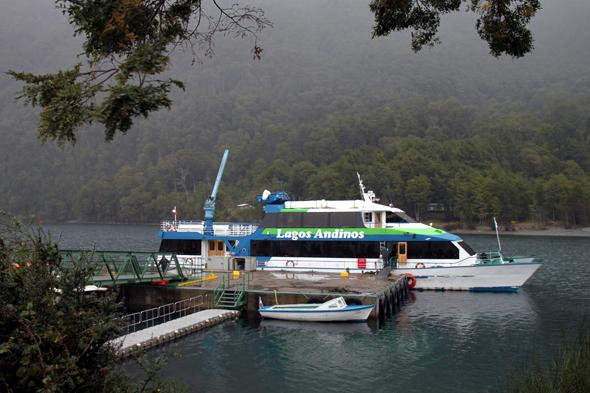 Entspannend: eine Bootstour über den Lago Todos los Santos. (Foto Karsten-Thilo Raab)