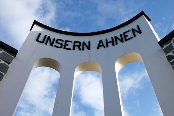 Letzte Ruhestätte für viele Einwanderer aus Deutschland: der Friedhof in Llanquihue. (Foto Karsten-Thilo Raab)