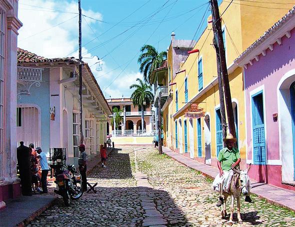 Überaus einladend gibt sich auch das pulsierende Trinidad.