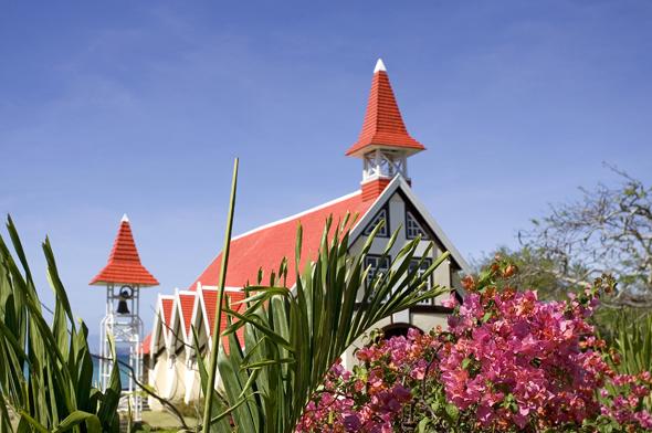 Charmantes Fleckchen finden sich überall auf Mauritius so wie hier am Cap Malhereux.