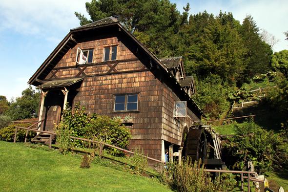 Ein Stück deutsche Geschichte in Chile: das Museo Colonial Alemán in Frutillar. (Foto Karsten-Thilo Raab)