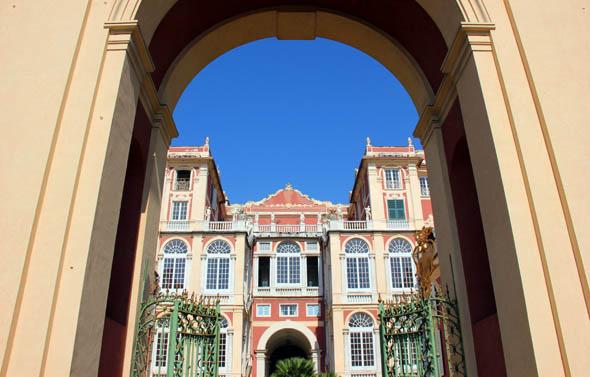 Einer der Palazzi dei Rolli: das Museo Palazzo Reale,. (Foto Karsten-Thilo Raab)