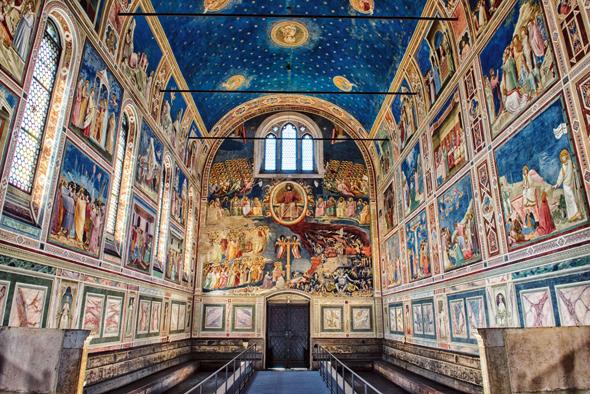 Nicht nur für Kunstliebhaber ein Genuss: die Cappella Scrovegni. (Foto Gabrio Tomelleri)