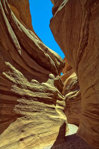 Eng, klein, aber überaus faszinierend: der Red Canyon.