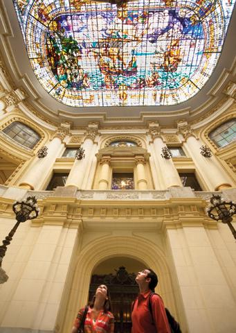 Lohnenswert: das Fine Arts Museum.