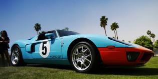 Desert Concorso in Palm Springs: Oldtimer und Sportwagen in der Wüste