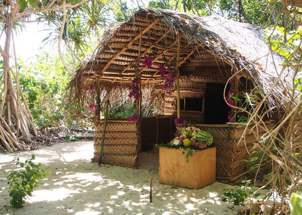 Im Fale Tonga ist kein Platz für Luxus, aber jede Menge Raum für Romantik und dem Gefühl von Freiheit.