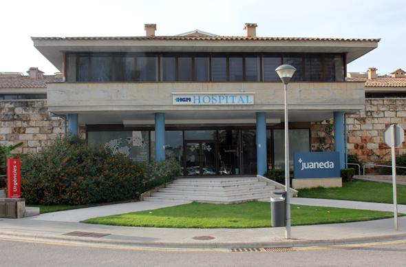 Nimmt eine zentrale Funktion in der Krankenversorgung im Nordosten Mallorcas ein: das Hostpital de Muro. (Foto Karsten-Thilo Raab)