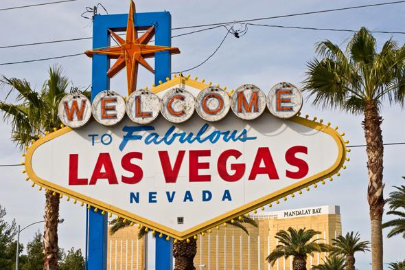 Das wohl berühmteste Ortsschild in ganz Nevada. (Fotos TravelNevada)