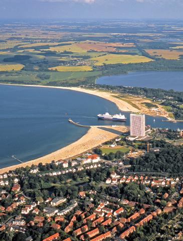 Trave und Ostsee prägen Travemünde und Umland. (Foto LTM)