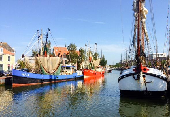"Der Heimathafen der ""Seemöwe"" in Haarlingen. (Foto Ulrike Katrin Peters)"
