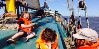 Wer traut sich ins Klüvernetz? Segel-Abenteuer vor Hollands Küste