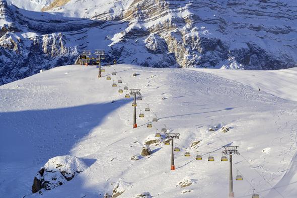 Wenig bekannt, aber durchaus lohneswert für Wintersportfreunde: das Skigebiet Shahdag in Aserbaidschan.