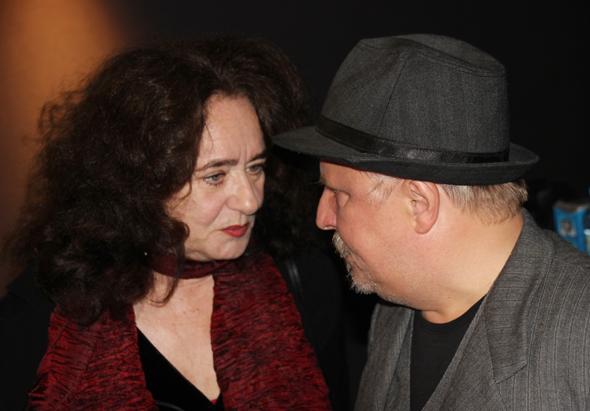 Mechthild Großmann und Axel Prahl zeigten sich hoch zufrieden mit ihrem neuen Film und die erste Resonanz. (Foto Karsten-Thilo Raab)