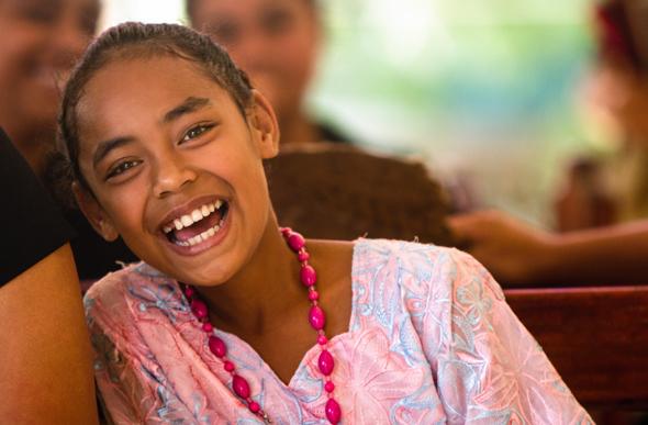 Eine Mischung aus Offenheit, Neugier und große Freundlichkeit kennzeichnet die Bewohner Tongas.