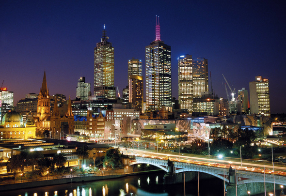 Äußerst lebens- und liebenswert: die australische Millionenmetropole Melbourne.