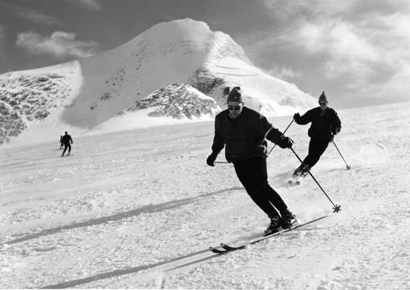 In den 1960er Jahren wurde das Kitzsteinhorn von den Skifahrern entdeckt. (Foto Kitzsteinhorn)