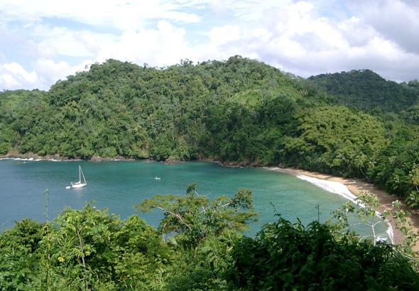 Englishman Bay auf Tobago. (Foto Eckhrad Belau/Pixelio)