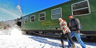 Aktiver Winterspaß im Naturpark Zittauer Gebirge