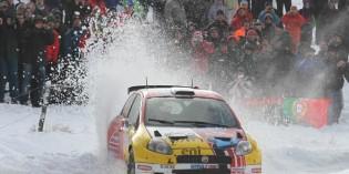 Mächtig Gummiabrieb bei der Rallye Monte-Carlo