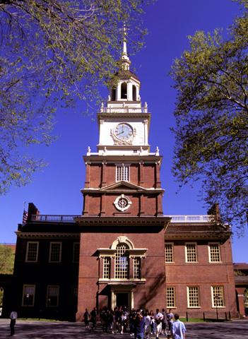 Wahrzeichen und Stolz von Phildelphia: die Independance Hall. (Foto PHL CVB)
