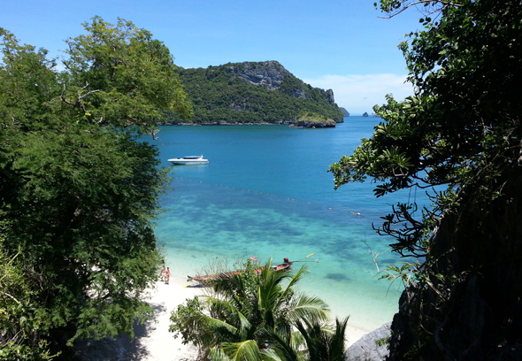 Insgesamt 42 Inseln gehören zum Mu Ko Ang Thong Nationalpark. (Foto Karsten-Thilo Raab)