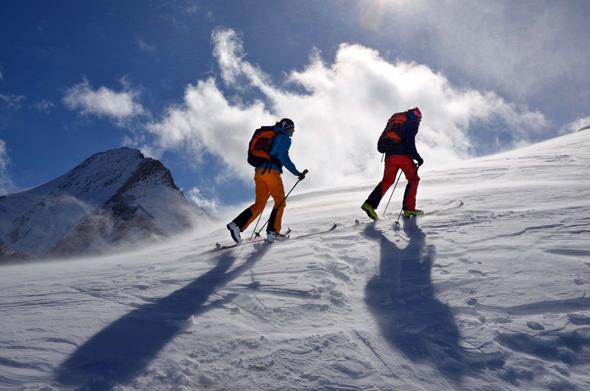 Auch Tourengeher haben längst die Bergwelt oberhalb von Kaprun für sich entdeckt. (Foto Skitourenwinter)