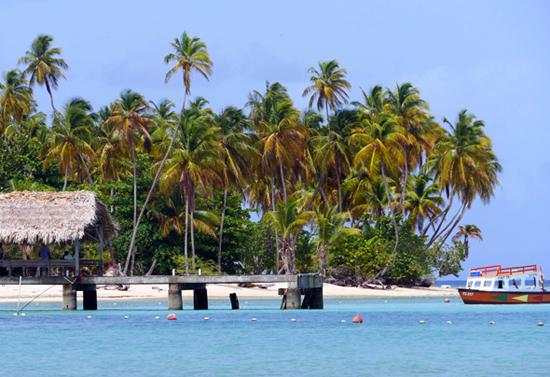 Ein Stück Karibik wie aus dem Bilderbuch: Pigeon Point auf Tobago. (Foto TDC)
