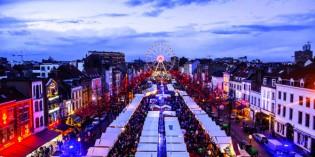 Originelles Winterspektakel im Herzen von Brüssel
