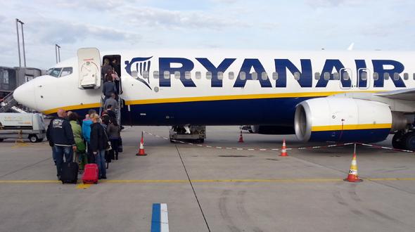 Billigflieger Ryanair sorgt mal wieder für negative Schlagzeilen. (Foto Karsten-Thilo Raab)