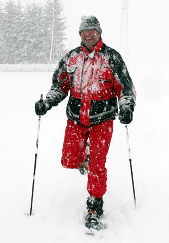 Beim Schneeschuhwandern lässt sich das Pillerseetal abseits des Pistentrubels genießen. (Foto Ulrike Katrin Peters)