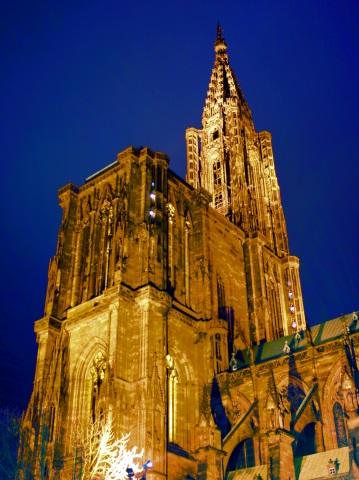 Berühmtes Wahrzeichen der Stadt: das Straßburger Münster. (Foto Karsten-Thilo Raab)