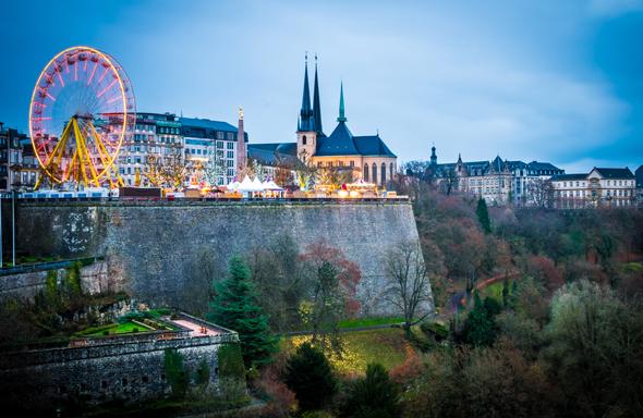 Mit dem Winterlights-Festival stimmt sich das Großherzogtum auf Weihnachten ein. (Foto Sabino Parente)