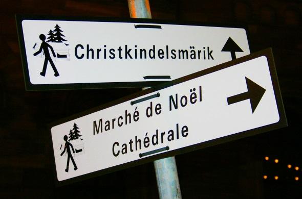 Zum mittlerweile 446. Mal steigt der Weihnachtsmarkt im herzen von Straßburg. (Foto Karsten-Thilo Raab)