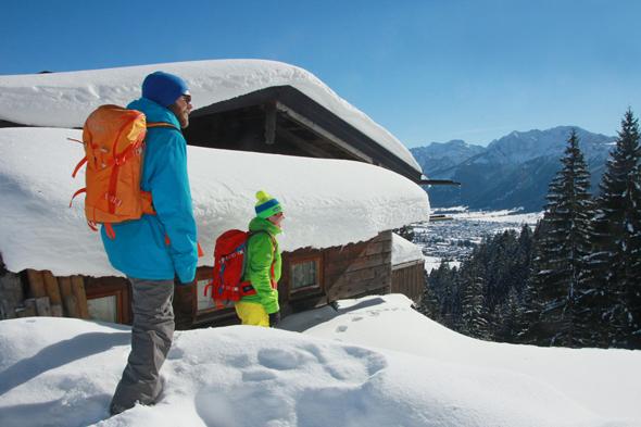 Eine Hüttenwanderung zur Hündeleskopfhütte besticht mit tollen An- und Aussichten.