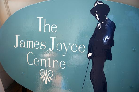 Anlaufstelle für Joyce-Jünger und Literatur-Liebhaber. das James Joyce Centre.