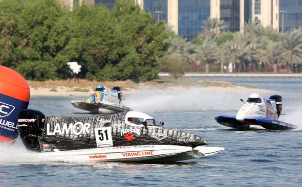 Höhepunkt des Sharjah Water Festival ist der Grand Prix von Sharjah.