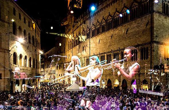 So klingt Italien: Perfekte Kulisse für das Festival Umbria Jazz in Orvieto.