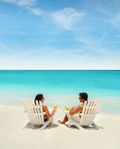 Ein Badetraum: der Cabbage Beach. (Foto Nassau Paradise Island)