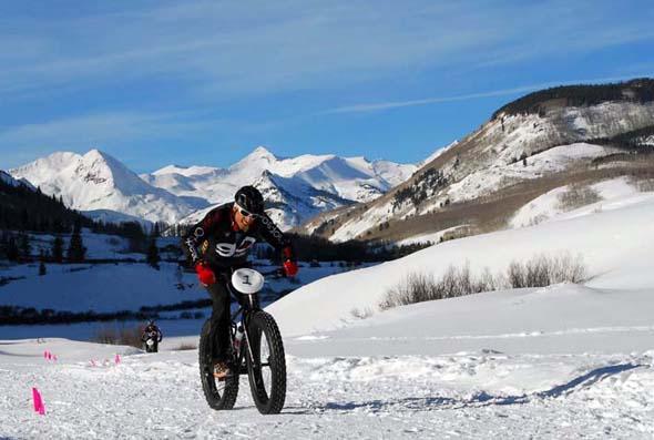 Premiere in Colorado: die Fat Bike Weltmeisterschaft. (Foto Crested Butte Mountain Resort)