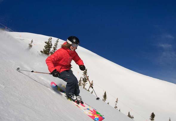 Frauenpower bei der Women's Ski Week in Breckenridge (Foto Breckenridge Resort)