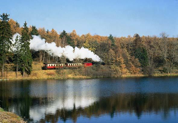 Überaus bezaubernd - eine Fahrt mit der Harzer Schmalspurbahn.