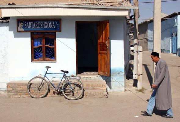 In vielen Teilen von Sharisabz ist der alte Glanz des Seidenstraßen.Mythos noch lebendig. (Foto Karsten-Thilo Raab)