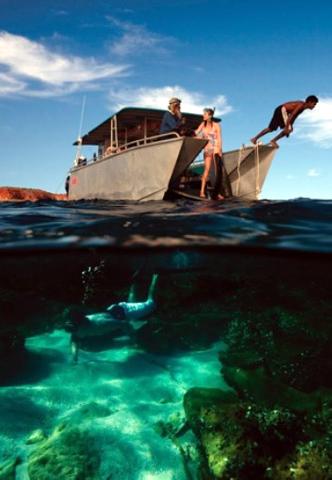 Das Great Barrier Reef gehört zu den vielen Naturphänomenen in Australien.