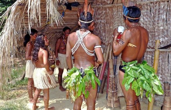 In der Amazonasregion sind noch immer zahlreiche indige Volksstämme heimisch.