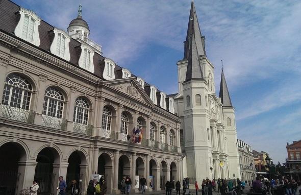 New Orleans ist besonders stark französisch geprägt.