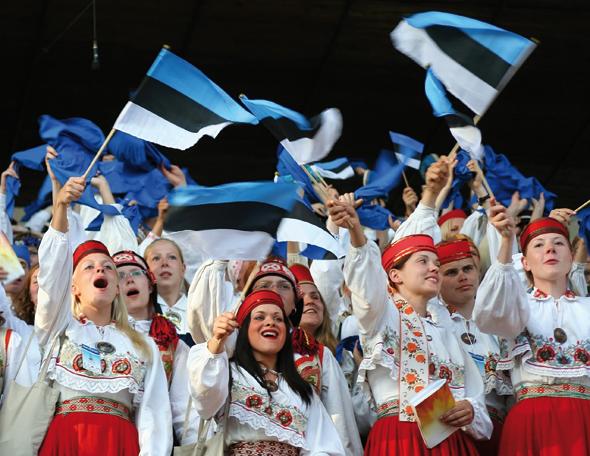 Der Nationalstolz der Esten ist nicht nur am Nationalfeiertag spürbar. (Foto Visit Estonia)