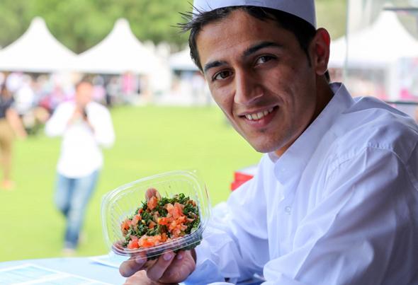 Ein Streifzug durch die Küche von Katar bietet das International Food Festival in Doha.